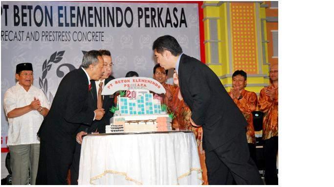 20th Anniversary PT BETON ELEMENINDO PERKASA
