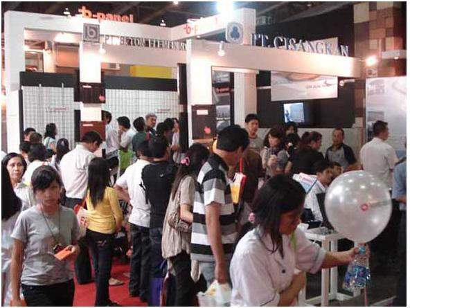Indobuildtech Exhibition 2009  1-5 July 2009 JCC Hall B, Stand B-37