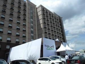 Hotel Olive Jakarta (Facade Motif)