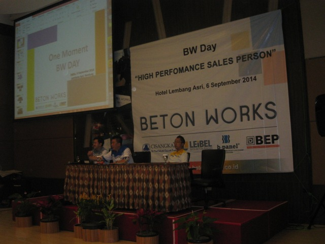 Beton Works Day