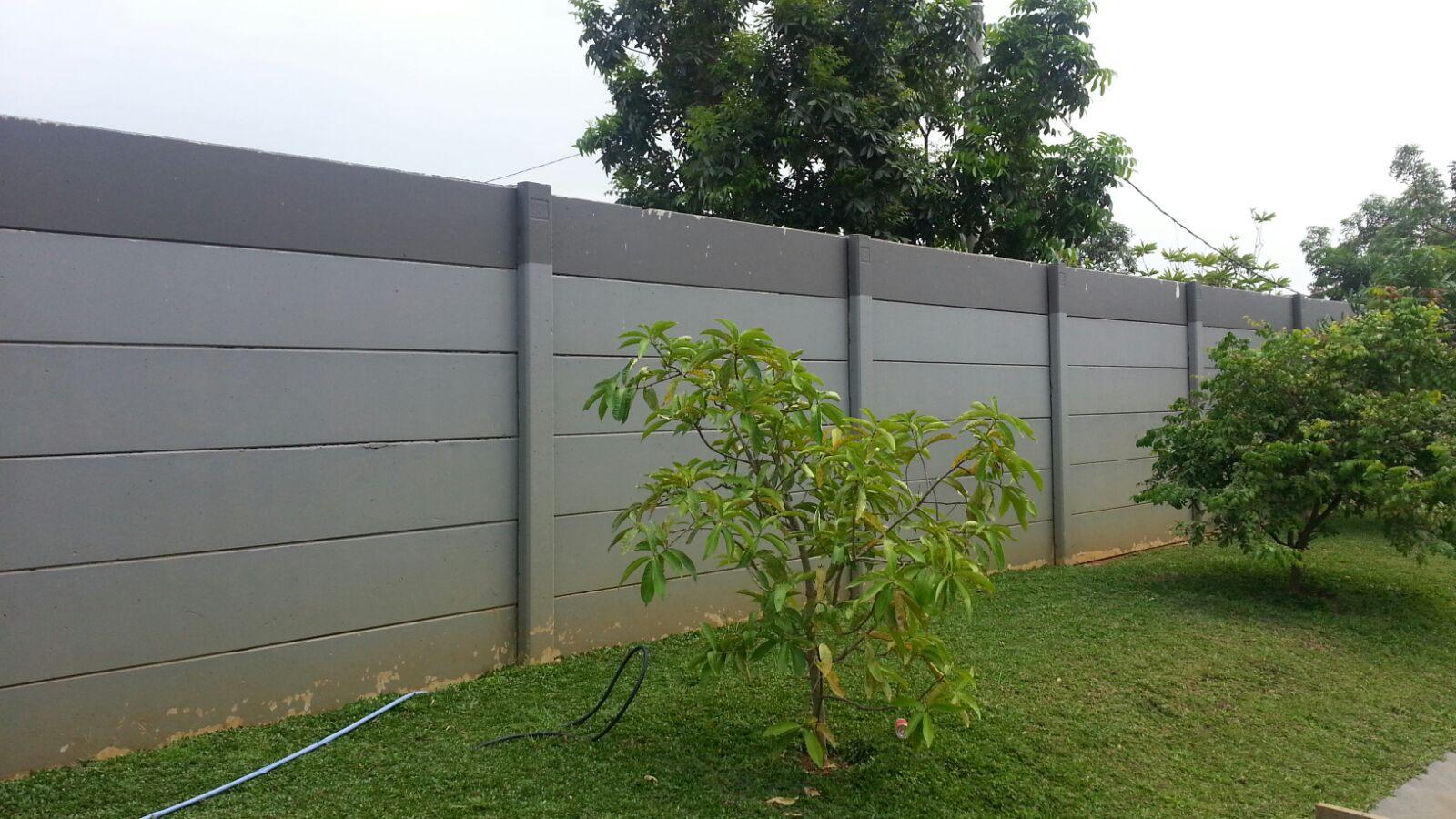 PT.  Dua Putra Perkasa – Precast Concrete Fence – Bandung